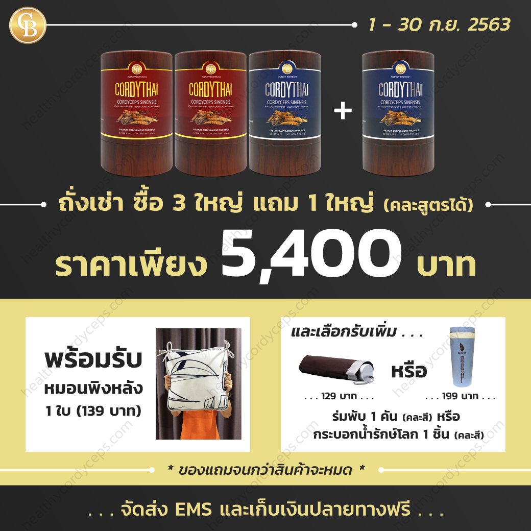 healthycordyceps-Promotion-Sep-ถั่งเช่า-2020